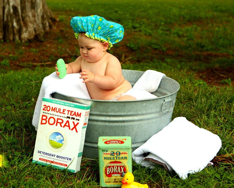 Soyez désormais plus sereins en donnant le bain à votre bébé