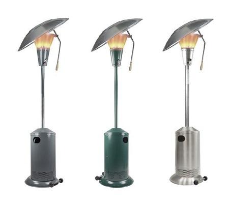 Le parasol chauffant, un accessoire de lutte efficace contre le froid des saissons glacielles